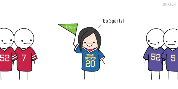Ready for the Super Bowl - Go Sports!